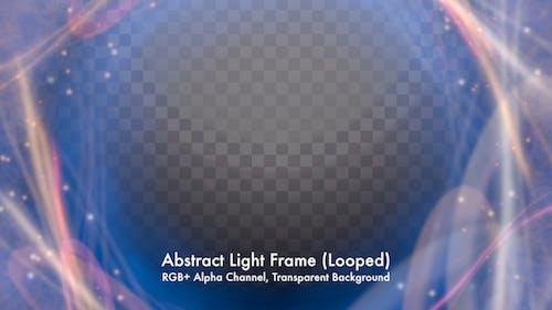 Abstrakter Lichtrahmen
