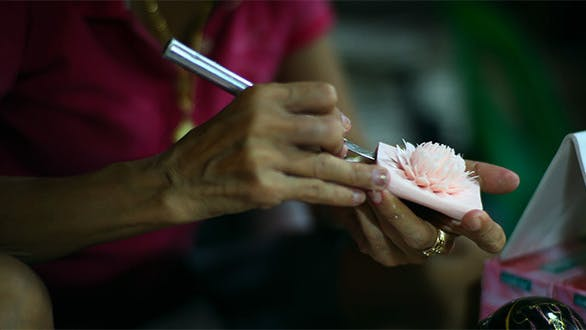 Thumbnail for Decorative Flower Soap