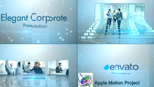 Thumbnail for Simple Stylish Presentation - Apple Motion