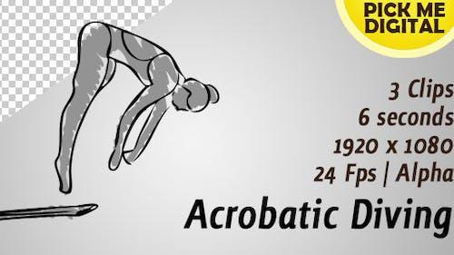 Plongée acrobatique