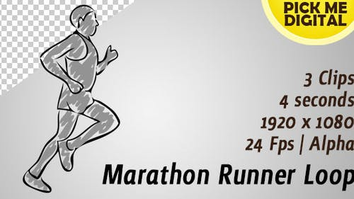 Marathon Runner Loop