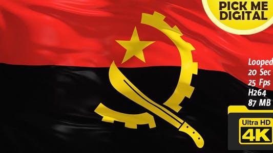 Thumbnail for Angola Flag 4K