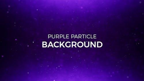 Purple Partikel Hintergrund