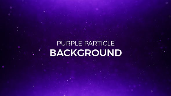 Thumbnail for Purple Particles Background