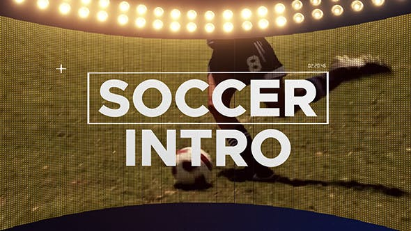 Cover Image for Fast Soccer Intro | After Effects Template
