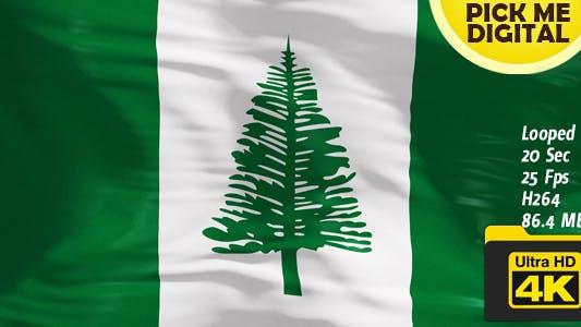 Cover Image for Australia-Norfolk Island Flag 4K