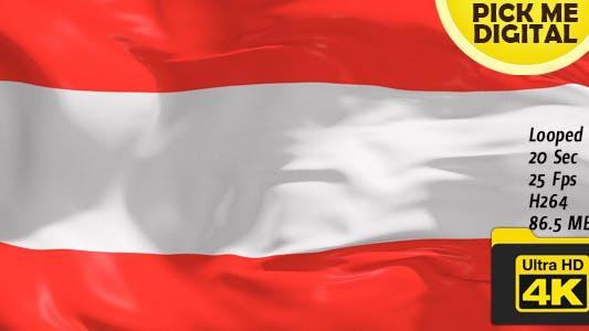 Cover Image for Austria Flag 4K
