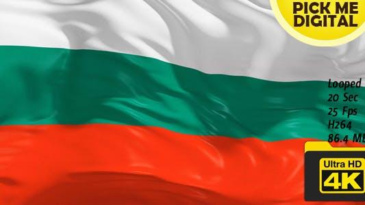 Thumbnail for Bulgaria Flag 4K