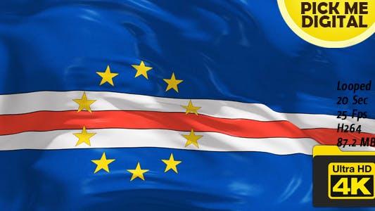 Thumbnail for Cape Verde Flag 4K