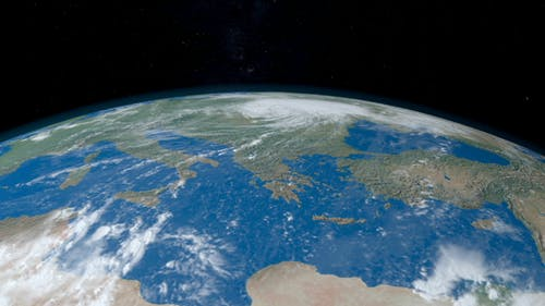 Mediterranean Sea in Planet Earth