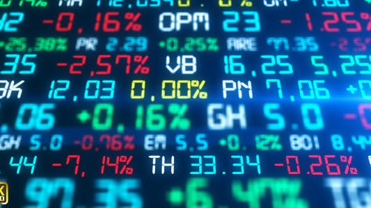 9 Stock Market Data Royalty Free Stock Video Footage