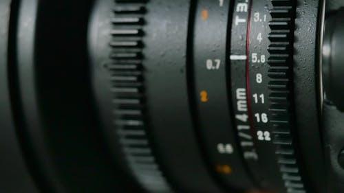 Marks on the Lens Aperture