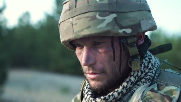 Thumbnail for Wounded Soldier in Uniform