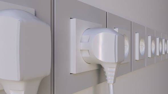 Thumbnail for Multiple Plugs Being Inserted Into the Outlets