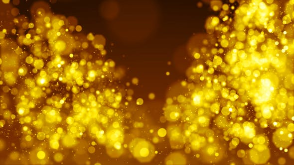 Thumbnail for Sparkling Gold Grace Background