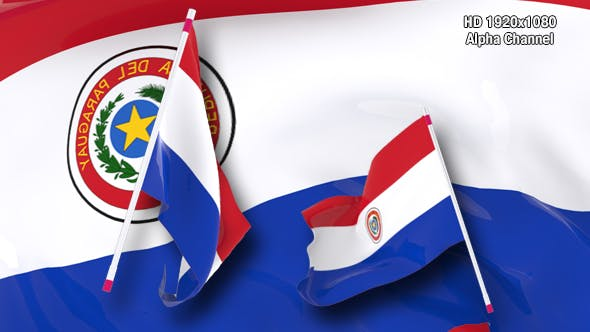 Thumbnail for Flag Transition - Paraguay