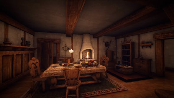 Thumbnail for Medieval House Life - 1