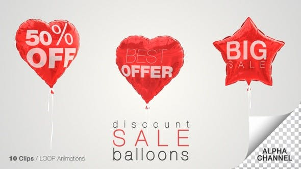 Thumbnail for Discount Sale Balloons