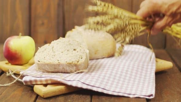 Thumbnail for Seasonal Harvest On Wooden Background