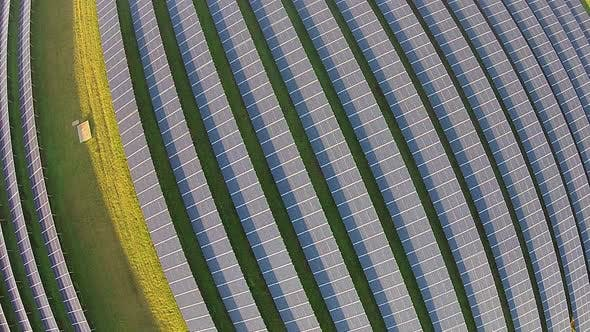 Thumbnail for Aerial view of photovoltaic solar panels, Anahola, Kauai, Hawaii