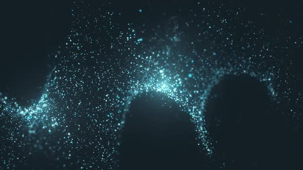 Thumbnail for Flowing Particles with Beautiful Flash Light Effects