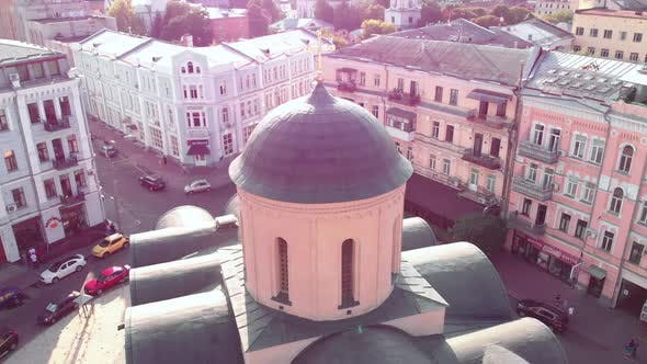 Thumbnail for Church of the Tithes. Aerial. Kyiv.Ukraine