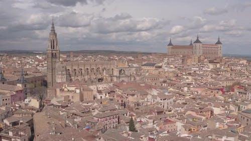 Luftaufnahmen der Kathedrale und Alcazar