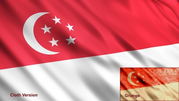 Thumbnail for Singapore Flags