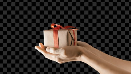 Gift Box With Alpha