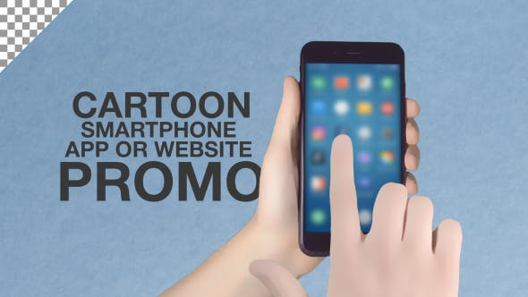 Thumbnail for Cartoon Smartphone App Promo ToolKit