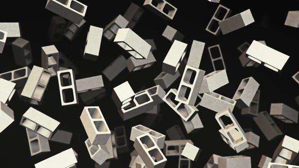 Thumbnail for Floating Besser Blocks on a Dark Background