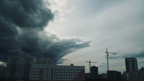 Thumbnail for Thunderous Clouds Over the City