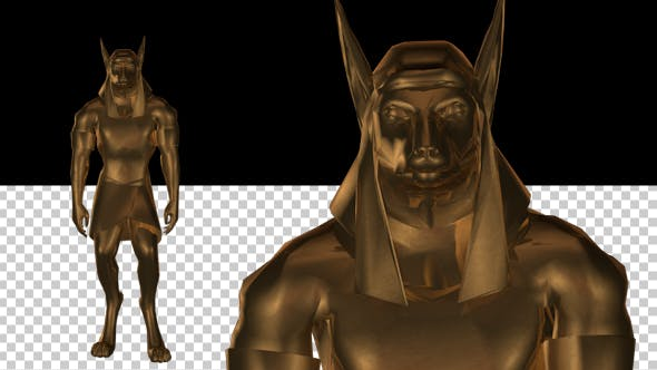 3D Gods of Ancient Egypt - Anubis
