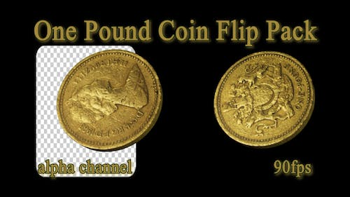 One Pound Coin Flip Pack