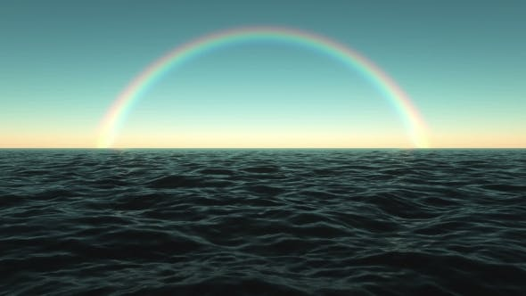 Thumbnail for Computer Generated Sea Surface with a Rainbow