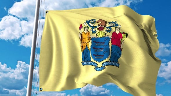 Thumbnail for Waving Flag of New Jersey