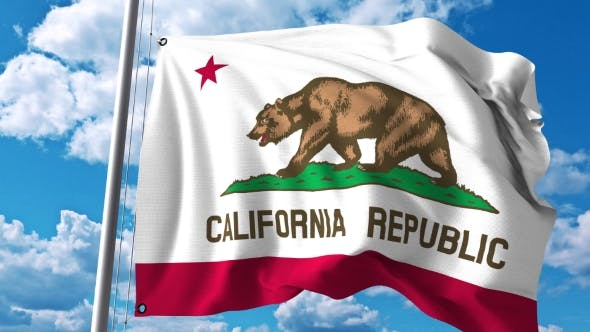 Thumbnail for Waving Flag of California