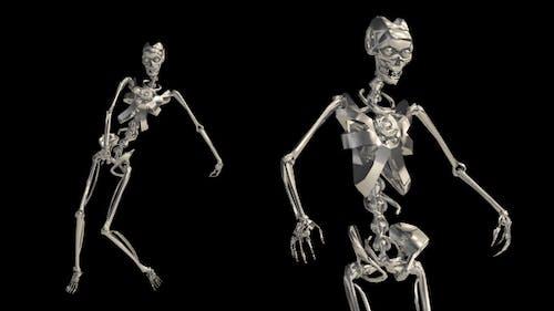 Metal Skeleton Dance