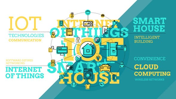 Thumbnail for Internet Of Things And Smart Home Infographics