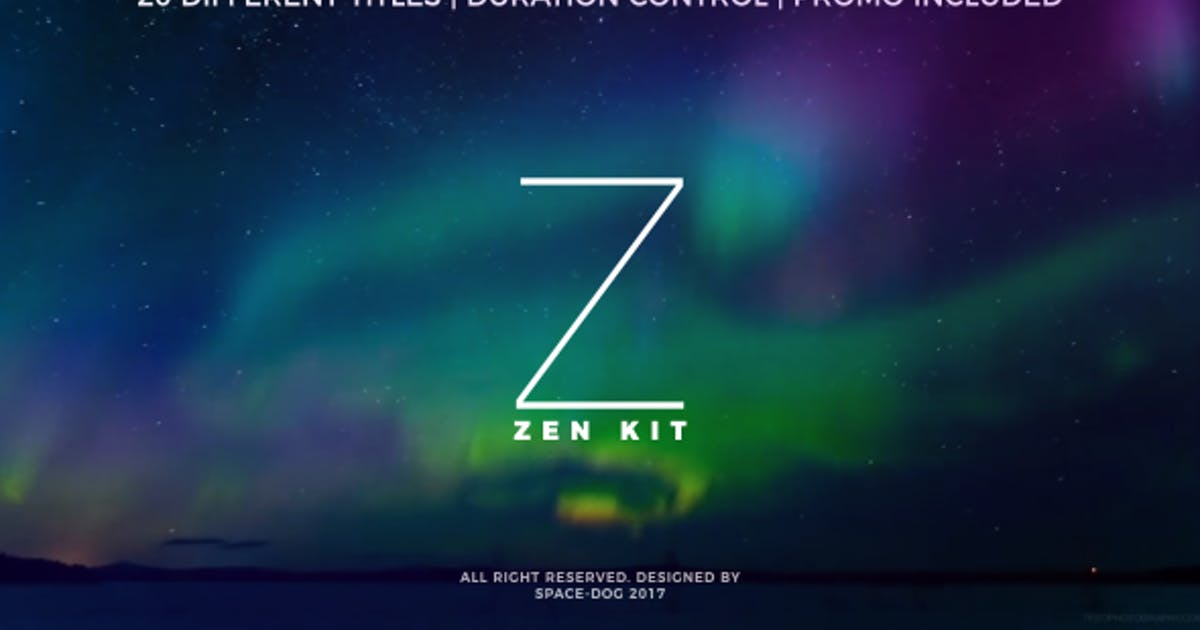Download Zen Kit (Titles Pack) by Space-Dog