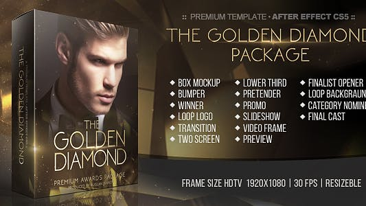 The Golden Diamond Awards Package