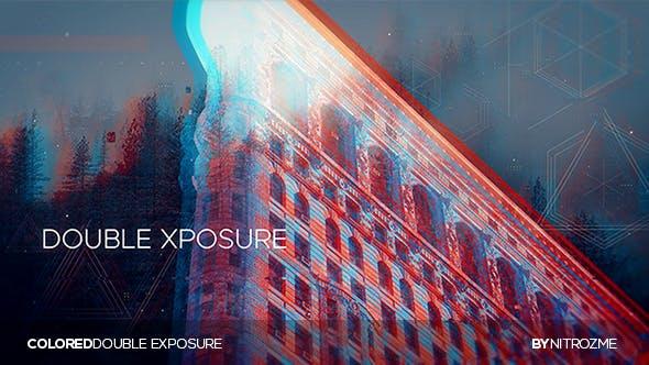 Thumbnail for Double exposition colorée