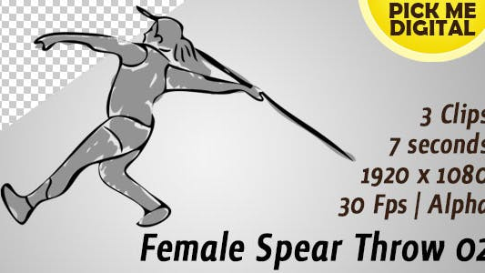 Cover Image for Female Javelin Throw 02