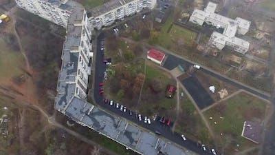 Longest House In The World In Lutsk, Ukraine