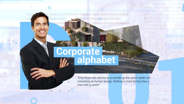 Thumbnail for Corporate Alphabet Slideshow