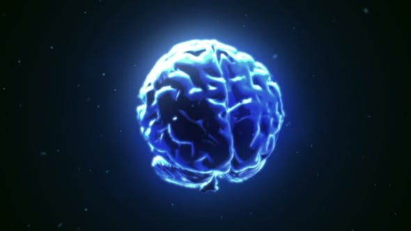 Thumbnail for Big Strong Brain Pulsing in Blue