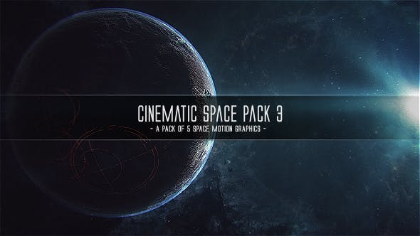 Cover Image for Cinematic Space Pack 3
