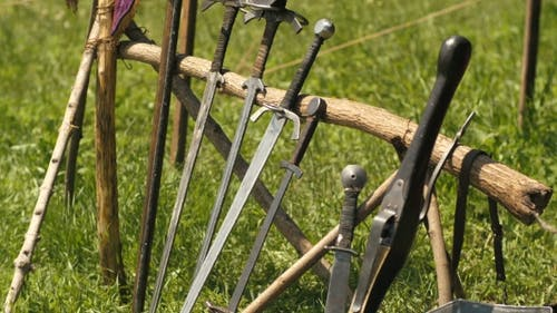Weapons of Medieval Knight