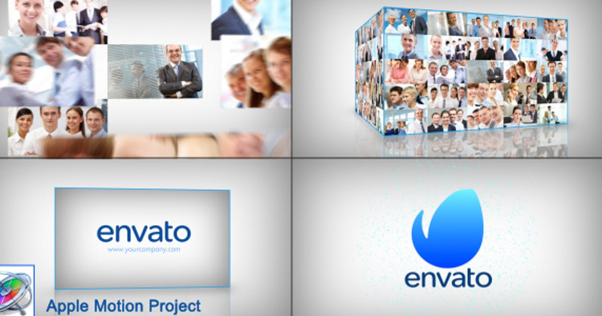 Download Clean Corporate Multi Video Logo Opener - Apple Motion by StrokeVorkz