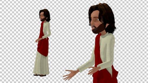 Cartoon Jesus